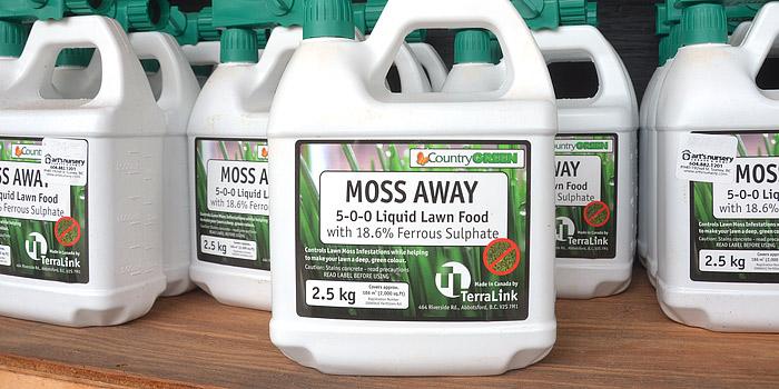 Moss Away Moss Control