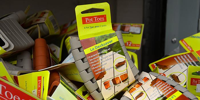 Pot Feet