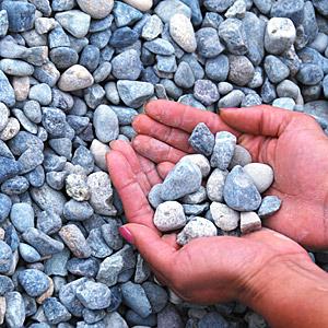 3/4 round gravel