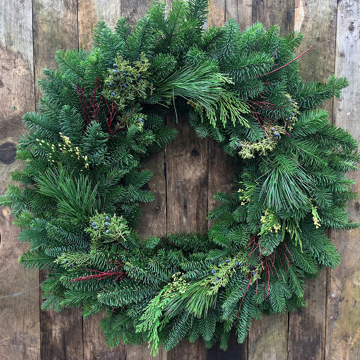 Deluxe 16in Christmas Wreath