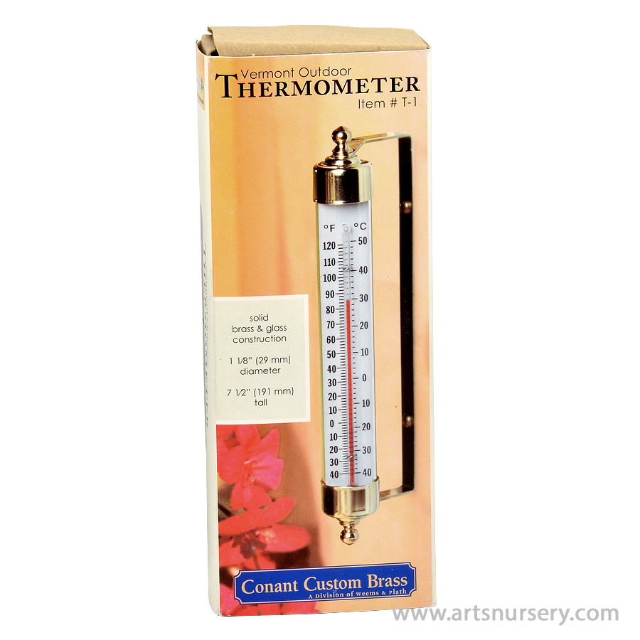 Conant Vermont Outdoor Thermometer T-1
