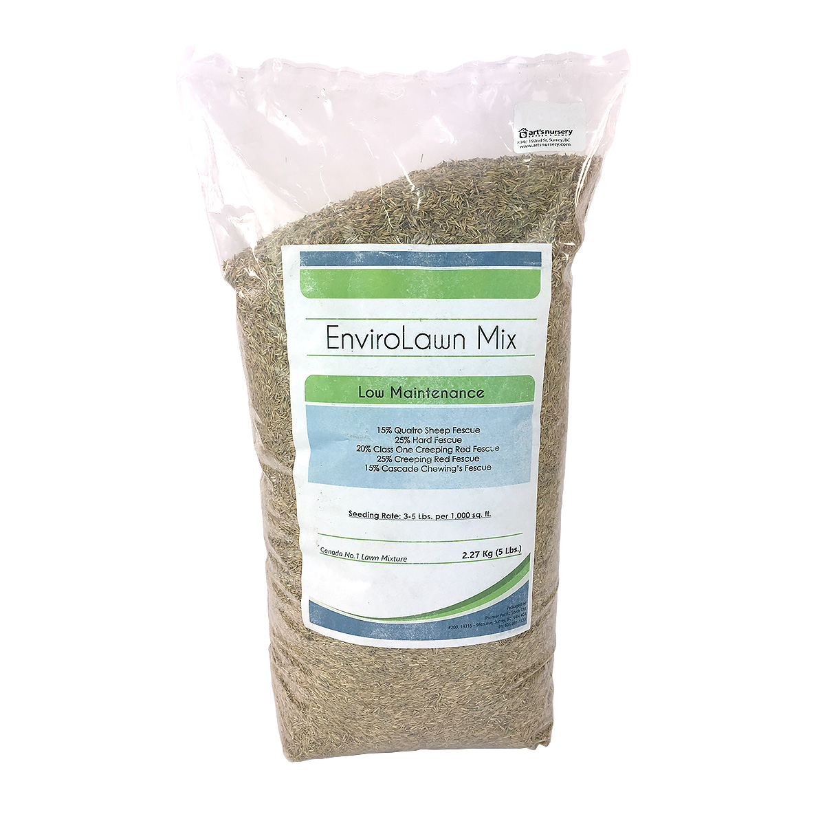 EnviroLawn Mix Low Maintenance Lawn Seed