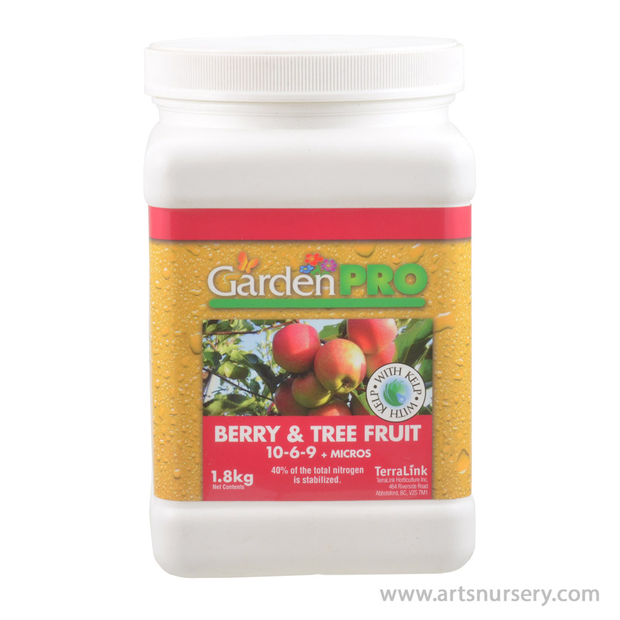 Garden Pro Berry and Tree Fruit Fertilizer 10-6-9