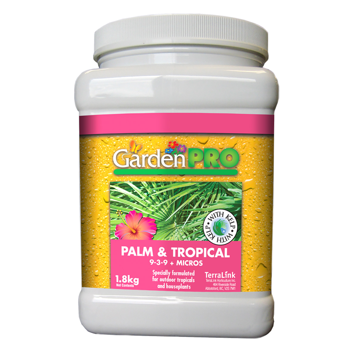 Garden Pro Palm and Tropical Fertilizer 9-3-9
