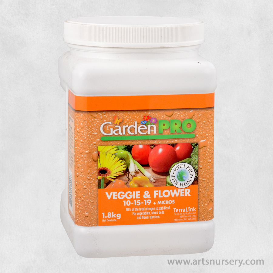 Garden Pro Veggie and Flower Fertilizer 10-15-19