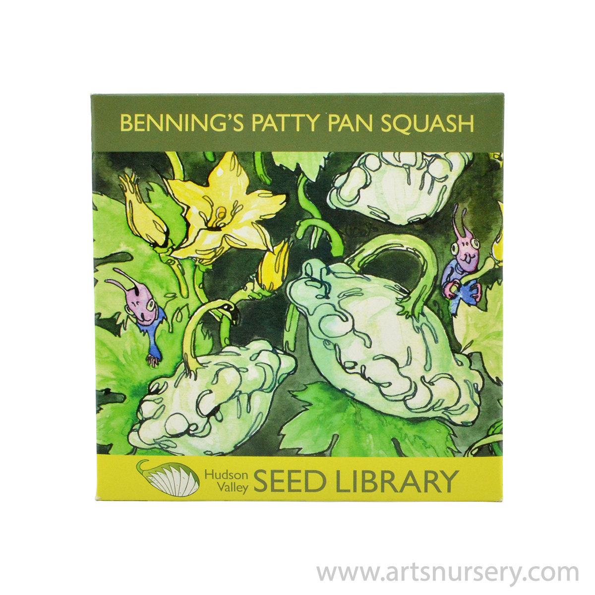 Benning's Patty Squash Hudson Valley Seeds