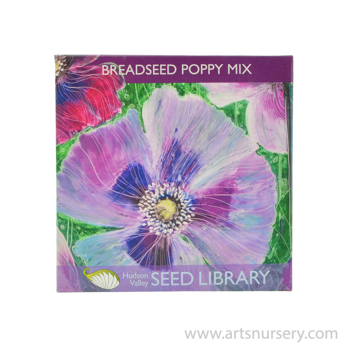 Breadseed Poppy Mix Hudson Valley Seeds