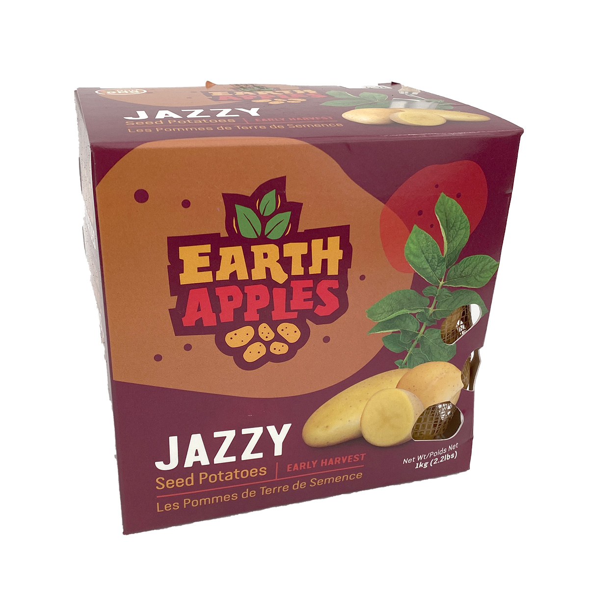 Jazzy Earth Apples Seed Potatoes 1kg