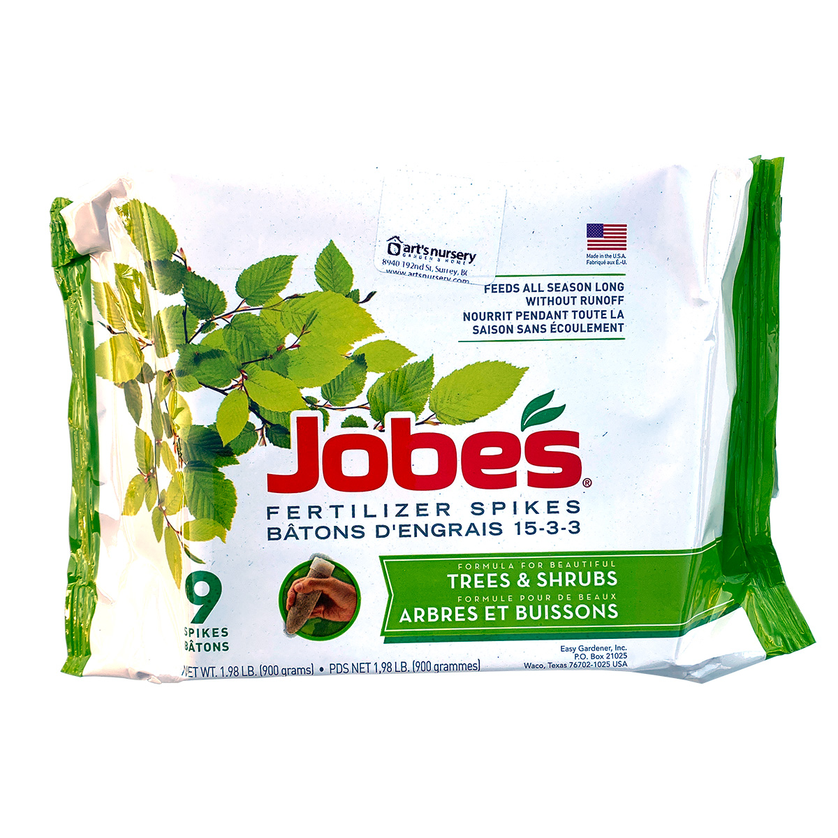 Jobes Tree and Shrub Fertilizer Spikes