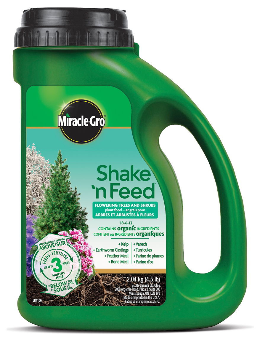 Miracle Gro Shake and Feed Flowers Trees & Shrubs