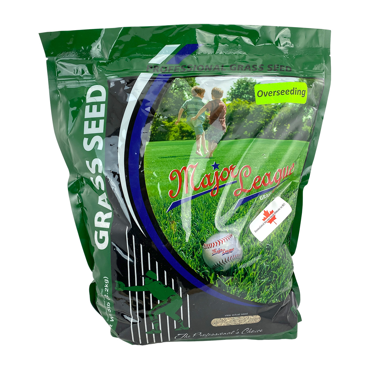 Major League Grass Seed Overseeding Mix 2.27kg