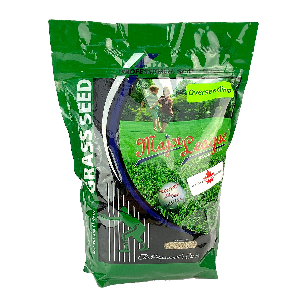 Major League Grass Seed Overseeding Mix 1400g