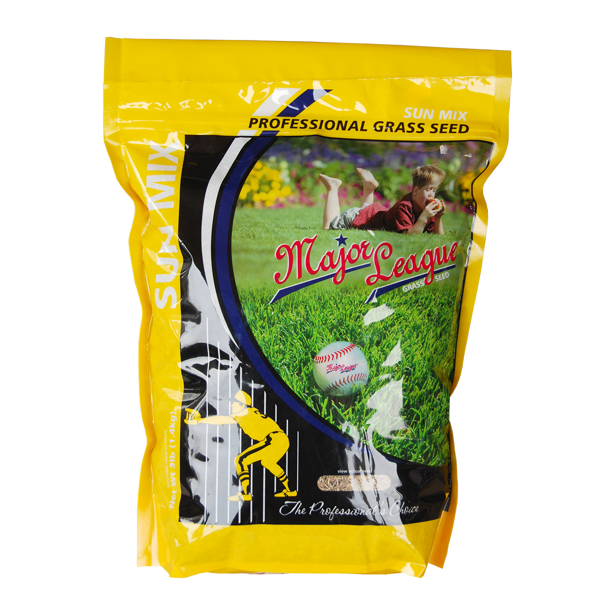 Major League Grass Seed Sun Mix 2.27kg