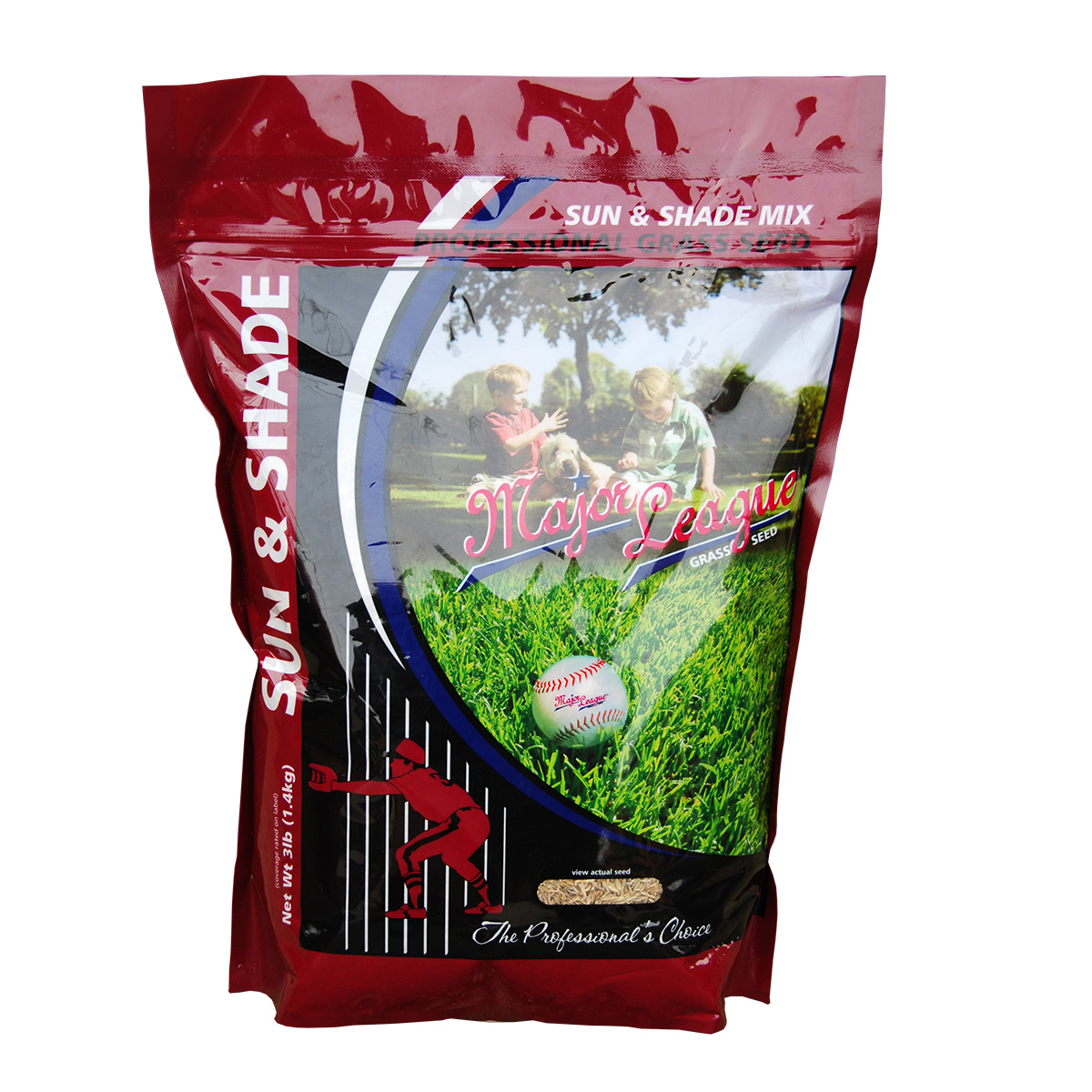 Major League Grass Seed Sun & Shade Mix 2.27kg
