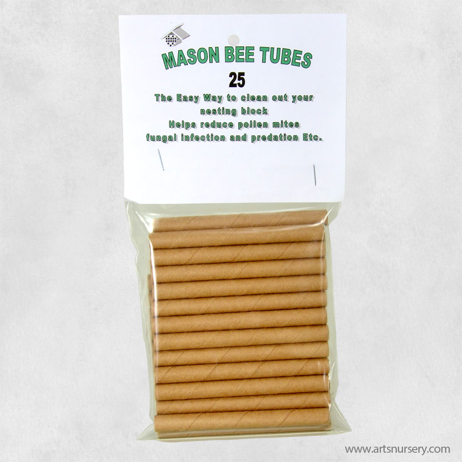 25 Pack Mason Bee Replacement Tubes
