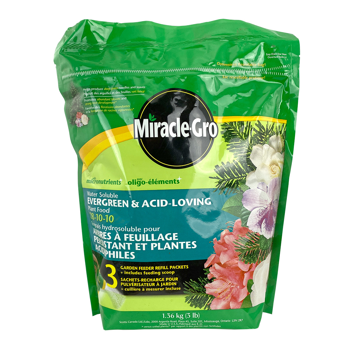 Miracle Gro Evergreen & Acid Loving Plant Food 28-10-10