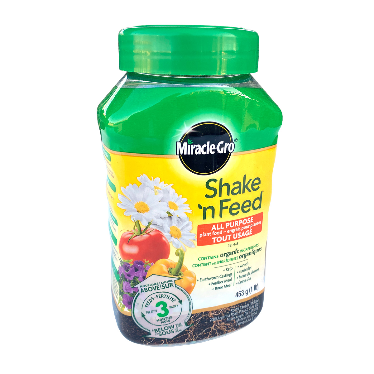 Miracle Gro Shake and Feed All Purpose 12-4-8 453g