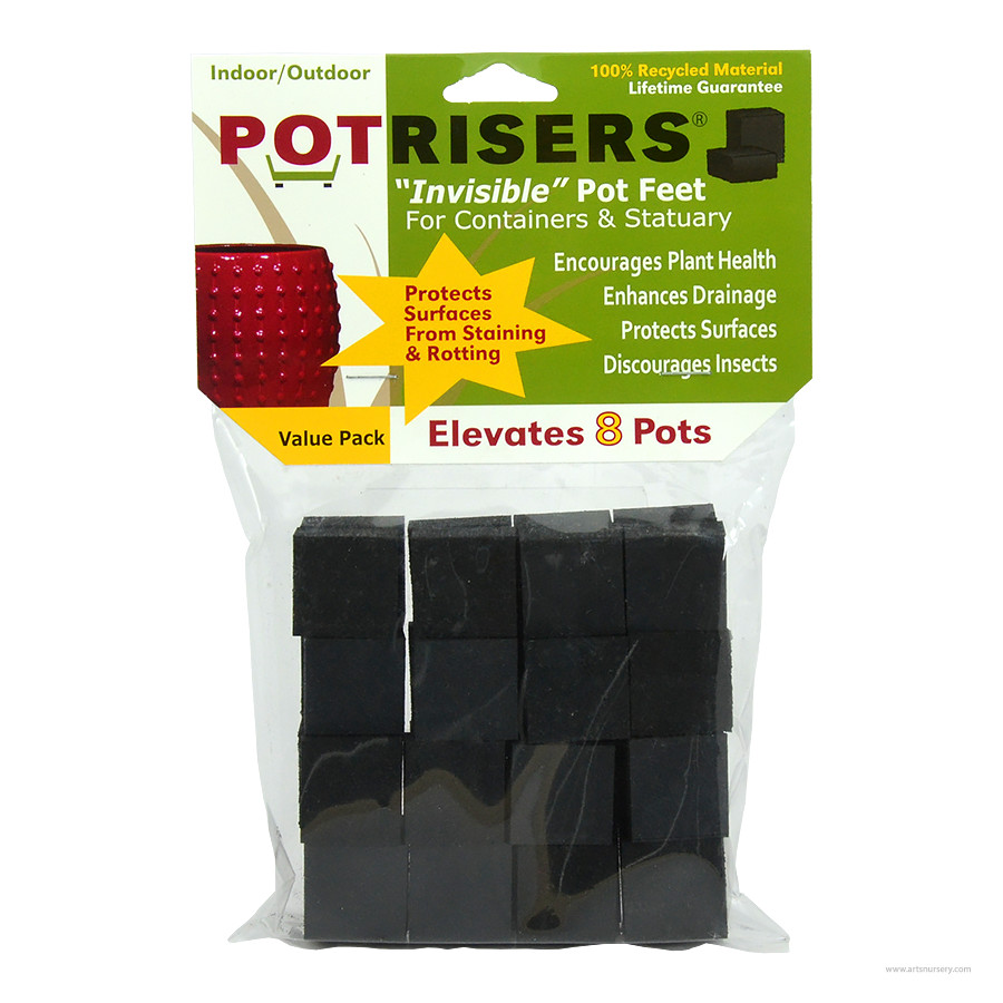 PotRisers Invisible Pot Feet For 8 Pots