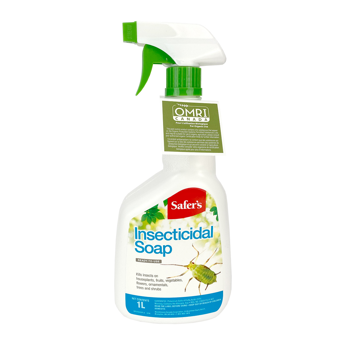 Safers Insecticidal Soap RTU 1L