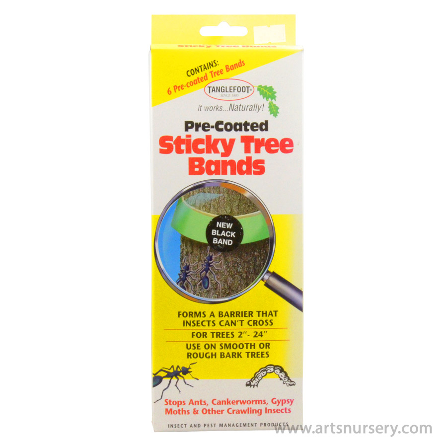 Tanglefoot Pre-Coated Sticky Tree Bands