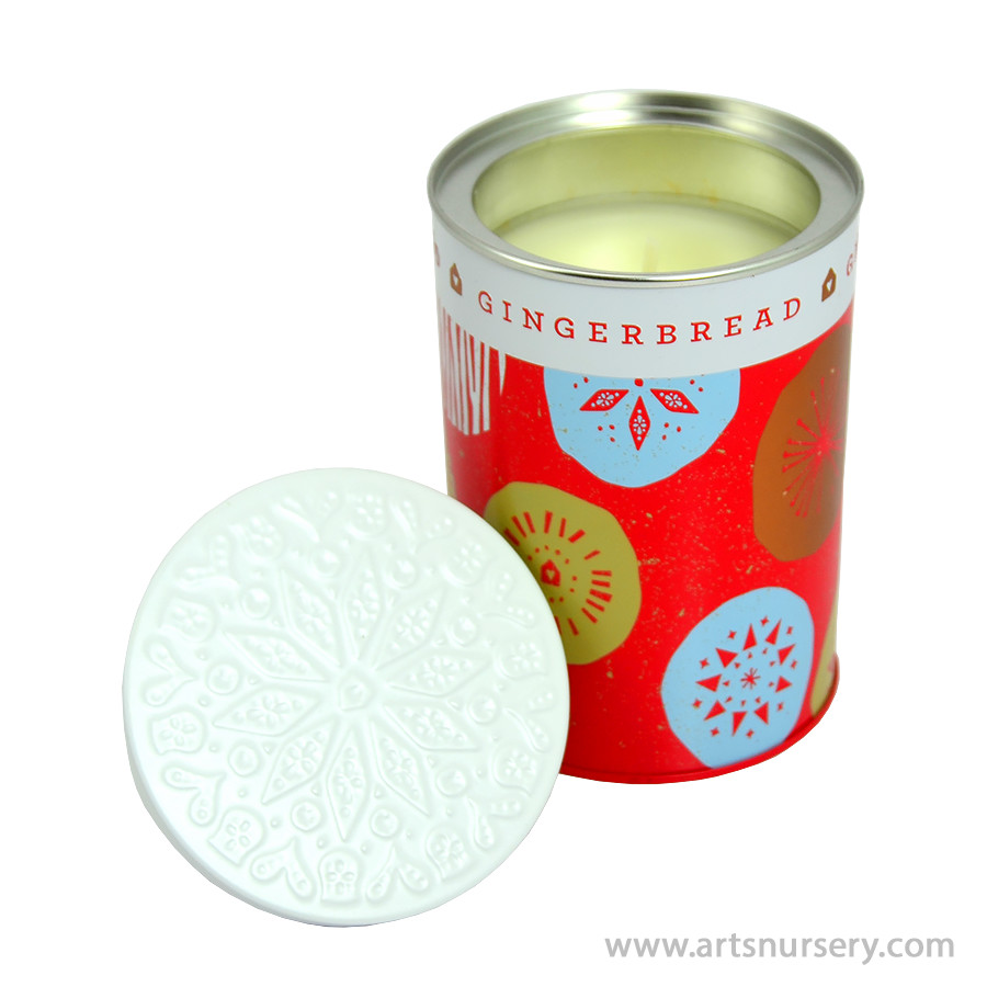 Thymes Gingerbread Candle Tin