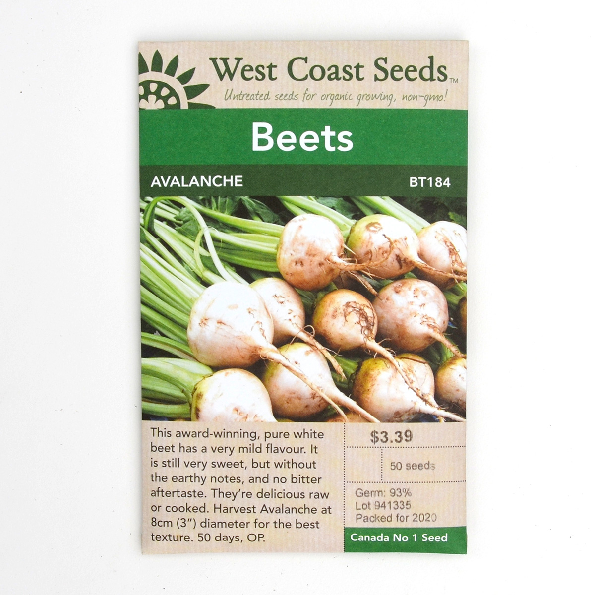 Beets Avalanche Seeds BT184