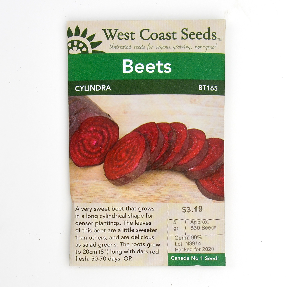 Beets Cylindra Seeds BT165