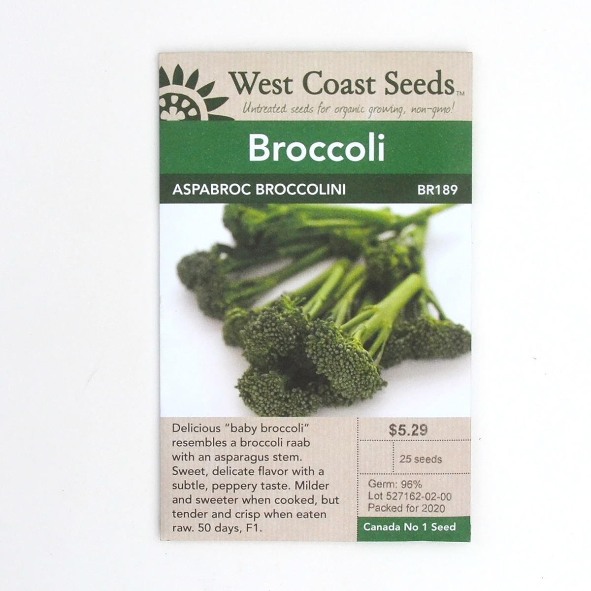Broccoli Aspabroc Broccolini Seeds BR189