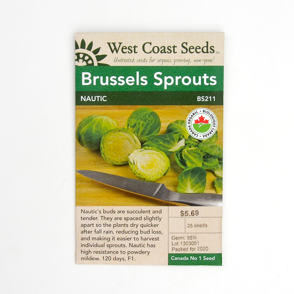 Brussels Sprouts Nautic Seeds BS211