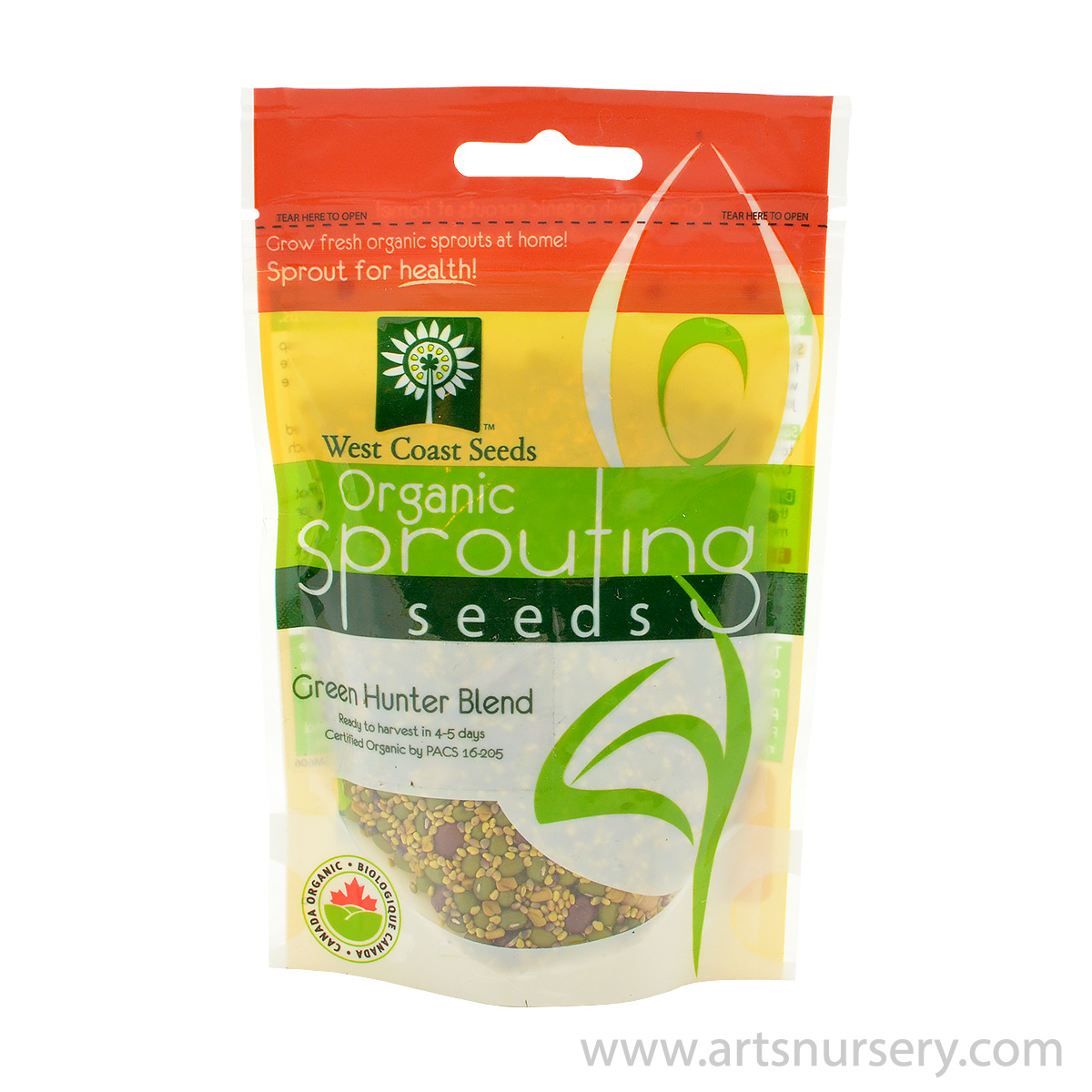 Green Hunter Blend Organic Sprouting Seeds