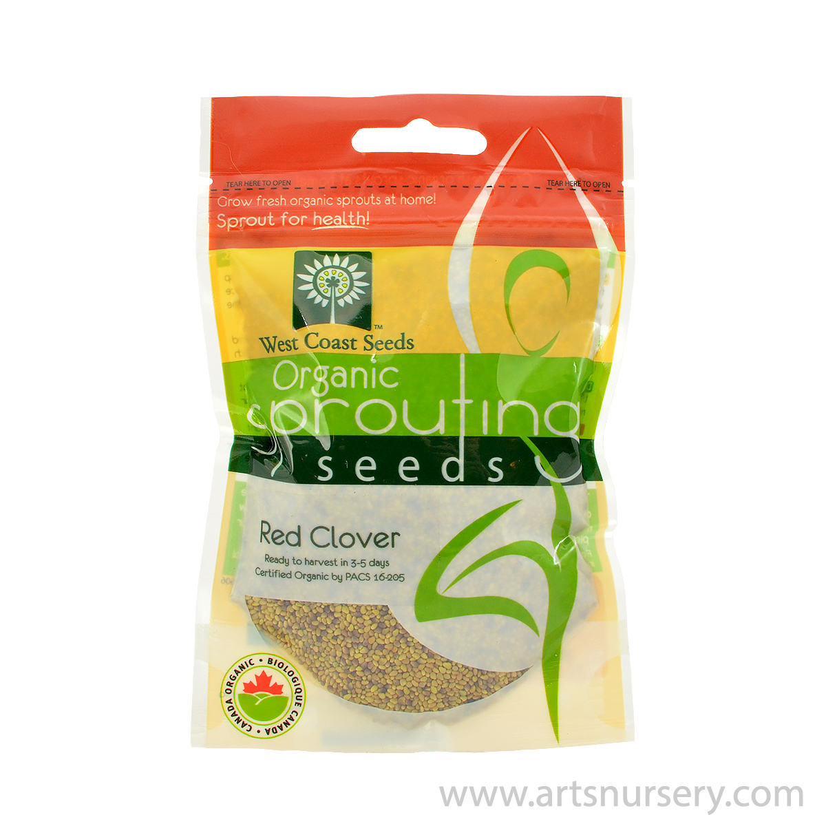 Red Clover Organic Sprouting Seeds