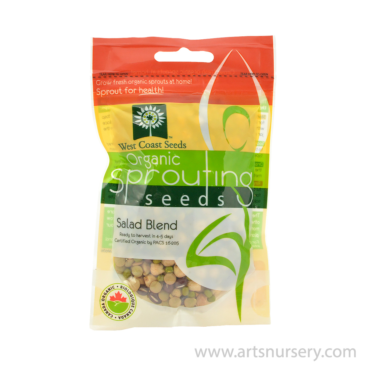 Salad Blend Organic Sprouting Seeds