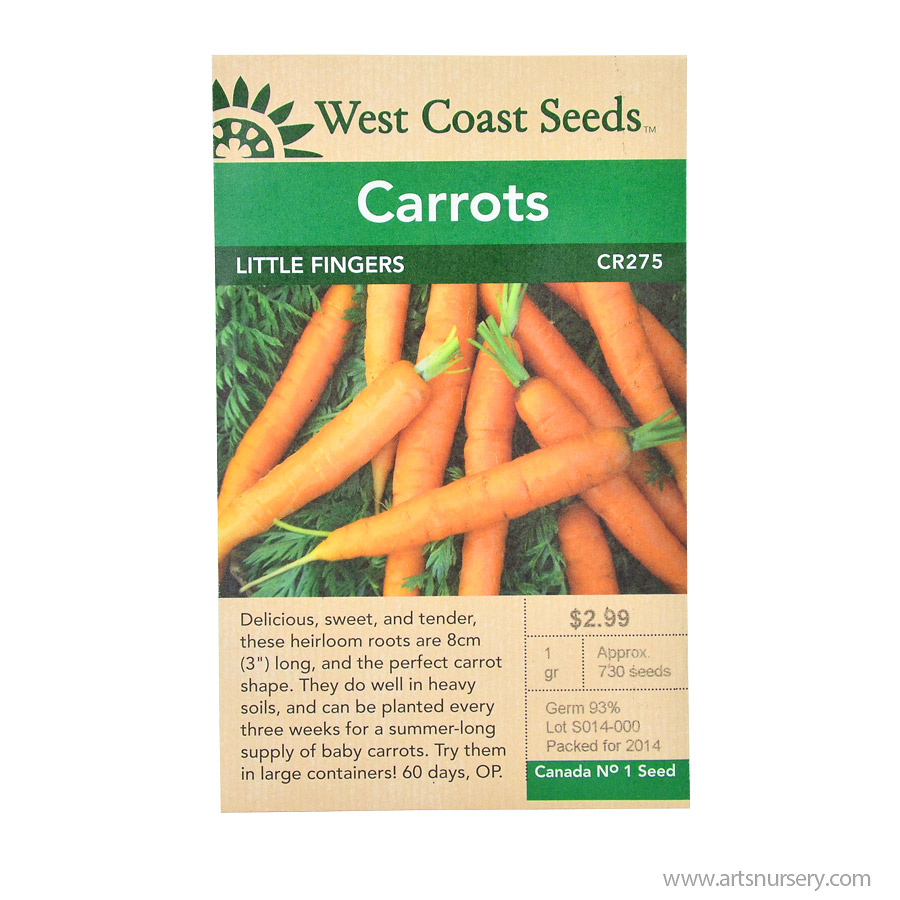 Little Fingers Carrot Seeds