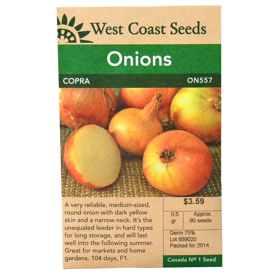 Onions Copra Seeds | West Coast Seeds