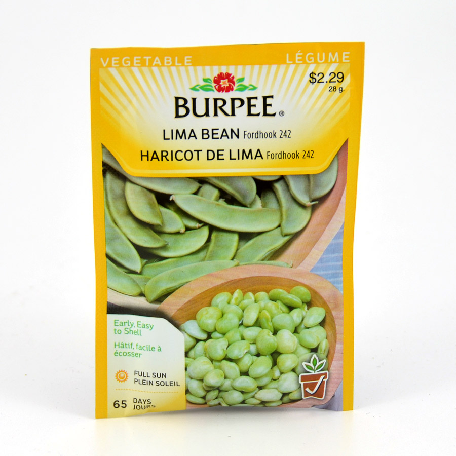 Fordhook 242 Lima Bean Seeds Burpee