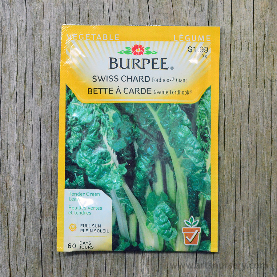 Fordhook Giant Swiss Chard Seeds Burpee