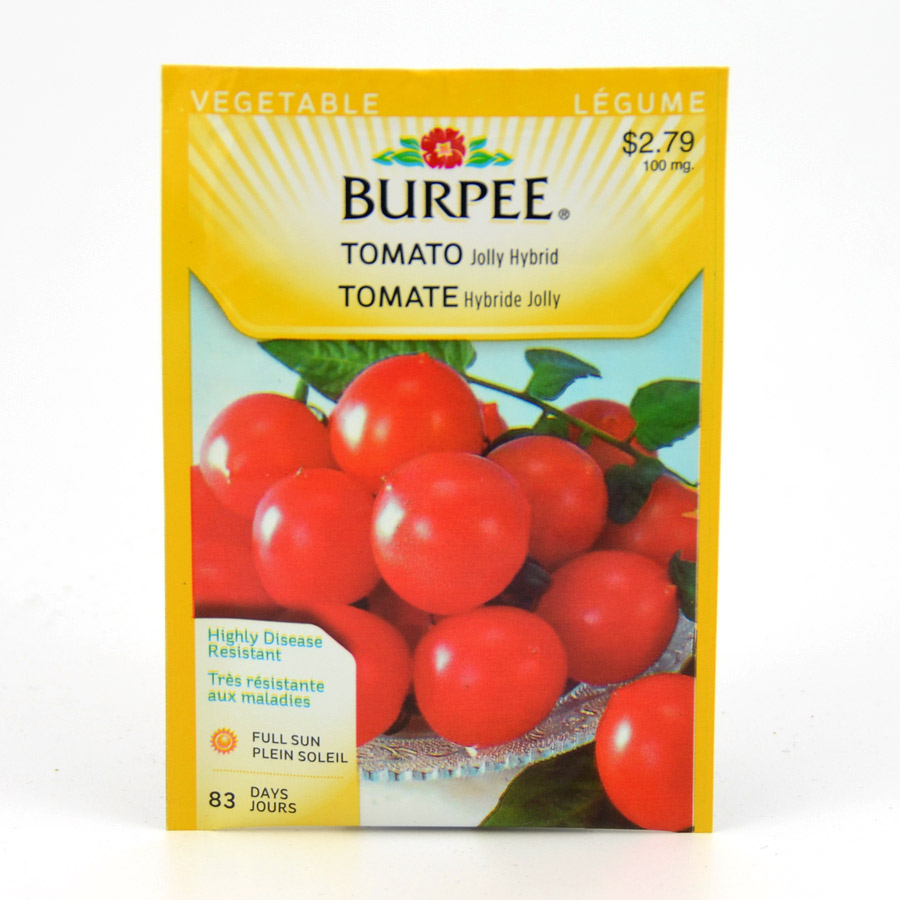 Webshop catalog seeds vegetable seeds tomato seeds burpee jolly hybrid