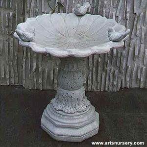 Blossom Estate Birdbath