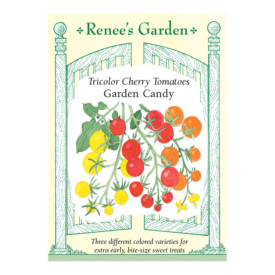 Garden Candy Tricolor Cherry Tomato Seeds