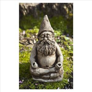 Gnome Meditating - Fred