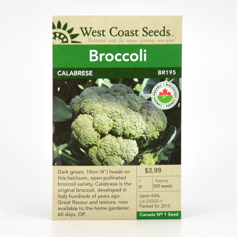 Calabrese Broccoli Seeds