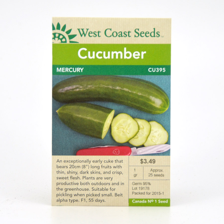 Mercury Cucumber Seeds