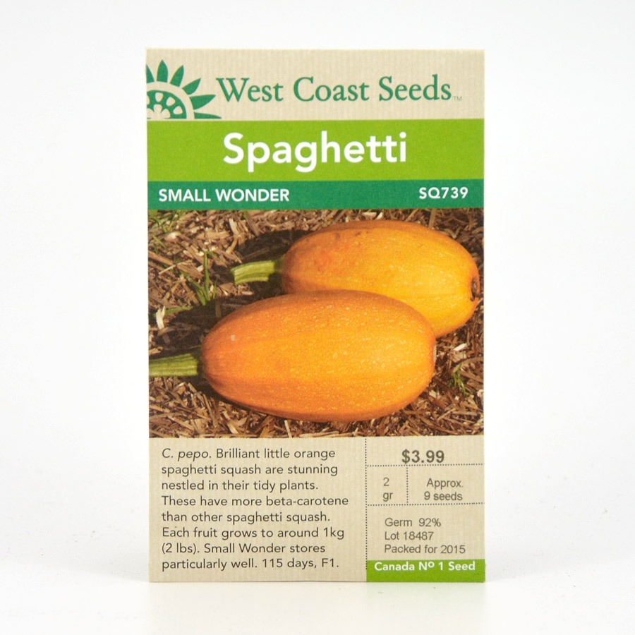 Small Wonder Spaghetti Squash Seeds